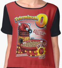 Exterminate O's Chiffon Top