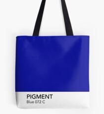 Pantone Blue 072 Tote Bag