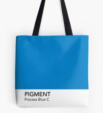 Pantone Process Blue C Tote Bag