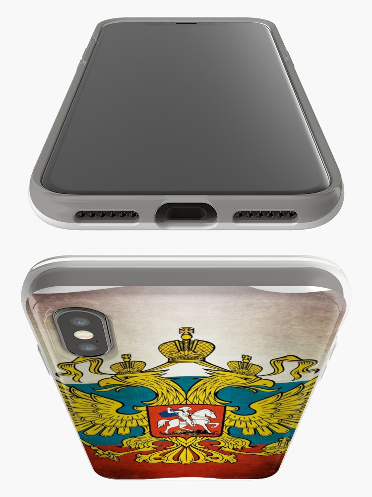 Alternative Ansicht von Waving flag of Russia iPhone-Hüllen & Cover