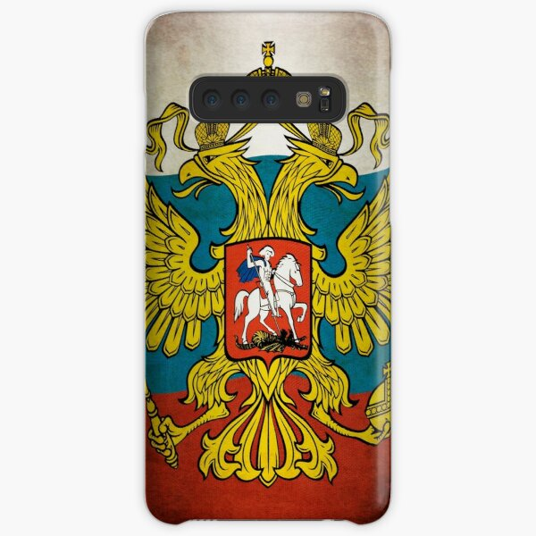 Waving flag of Russia Samsung Galaxy Snap Case