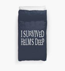 I Survived... Duvet Cover