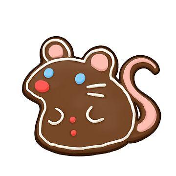 Ratón de pan de jengibre de pawlove