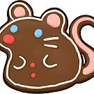 Gingerbread mouse by pawlove