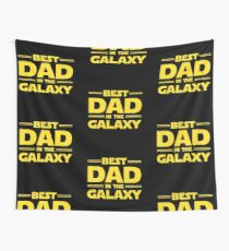 Best Dad in The Galaxy Wall Tapestry