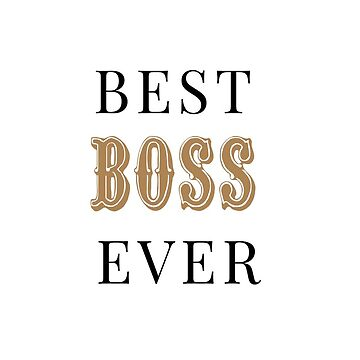 Best boss ever mug by AnnaGo