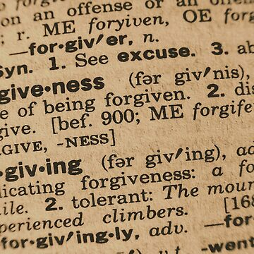 Forgotten Meanings - Forgiveness by JoeGeraci