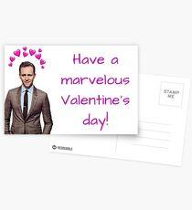 Tom Hiddleston Valentine's Day, Gifts, Presents, Ideas, Sentimental, Marvel, Movies, Music, Girlfriend, Boyfriend, Best mate, Best friend, Funny Postcards
