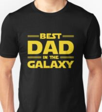 Bester Vater in der Galaxie Slim Fit T-Shirt