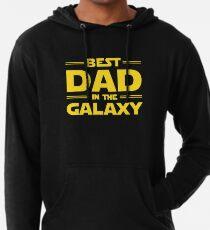 Bester Vater in der Galaxie Leichter Hoodie
