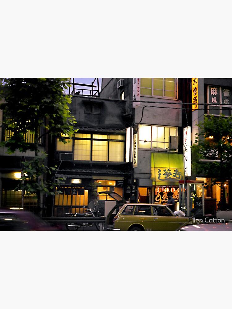 Tokyo Nights by ellcot