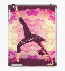 In love with Yoga iPad Case/Skin