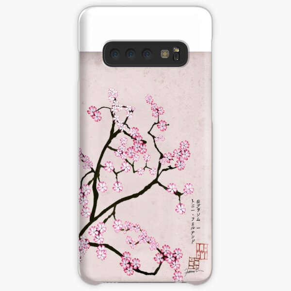 Antique Pink Cherry 7 by Tony Fernandes Samsung Galaxy Snap Case