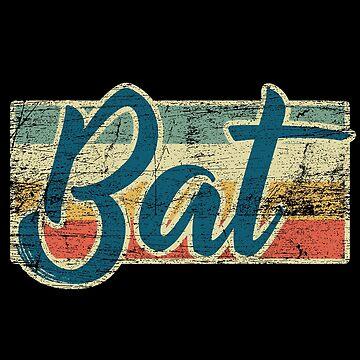 bat by GeschenkIdee