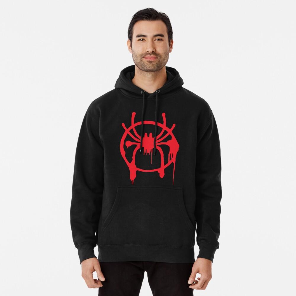 La araña de Miles Sudadera con capucha