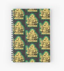 Buddha try not to be a cunt Spiral Notebook