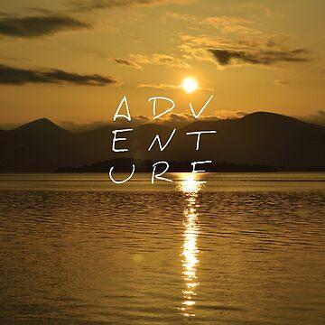 Adventure: Sunset by eldram