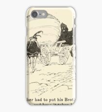 Snowdrop & Other Tales by Jacob Grimm art Arthur Rackham 1920 0084 Rich Brother and Turnip iPhone Case/Skin
