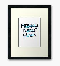 happy new year Framed Print