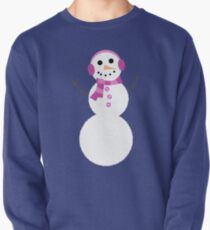 Snowman Pullover Sweatshirt