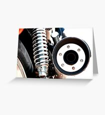 Exhaust Circle Greeting Card
