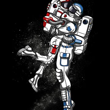 Astronaut Couple Space Valentines Day Galaxy Anniversary by underheaven