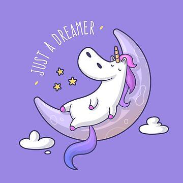 Just a Dreamer - Dreamy Unicorn by zoljo