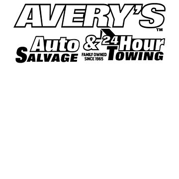 Avery's Auto Salvage & 24 Hour Towing by jamescrowe1987
