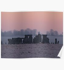 Moods of Stonehenge 2 - Predawn Poster