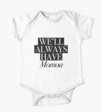 We will always have Momoa Short Sleeve Baby One-Piece