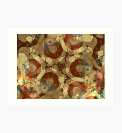 bobullas pattern Art Print
