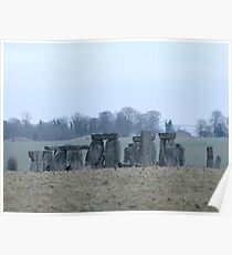 Moods of Stonehenge 4 - The day before the snow Poster