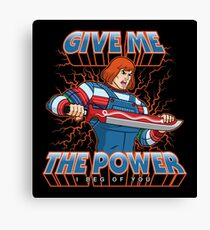 ChuckHe-Man Canvas Print