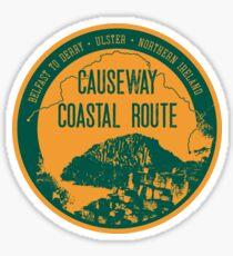 Causway Coastal Route - Northern Ireland T-Shirt + Sticker 3 Sticker
