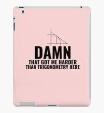 Trigonometry Hard iPad Case/Skin
