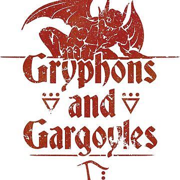 Gryphons and Gargoyles - Sacrifice by nostalgiagame