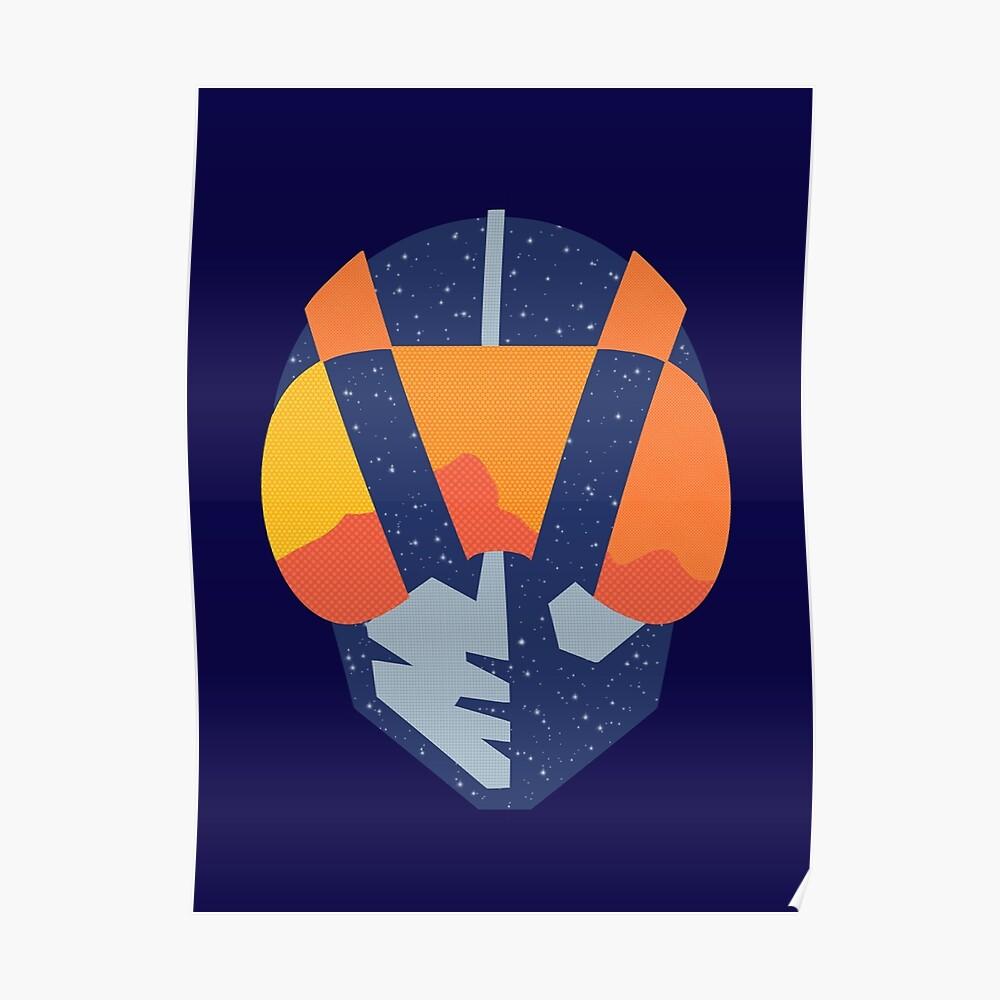 Art Las Vegas aviators logo Poster