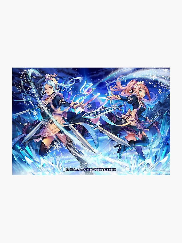 Flora and Felicia - Fire Emblem Cipher | Photographic Print