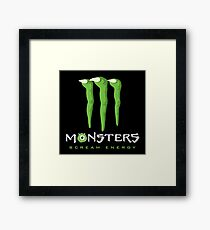 Scream Energy Framed Print