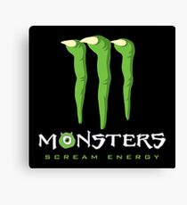 Scream Energy Canvas Print