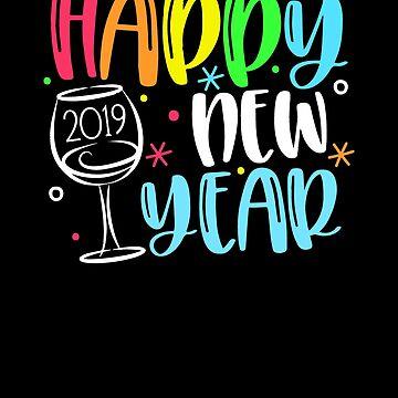 Happy New Year 2019 by MikeMcGreg