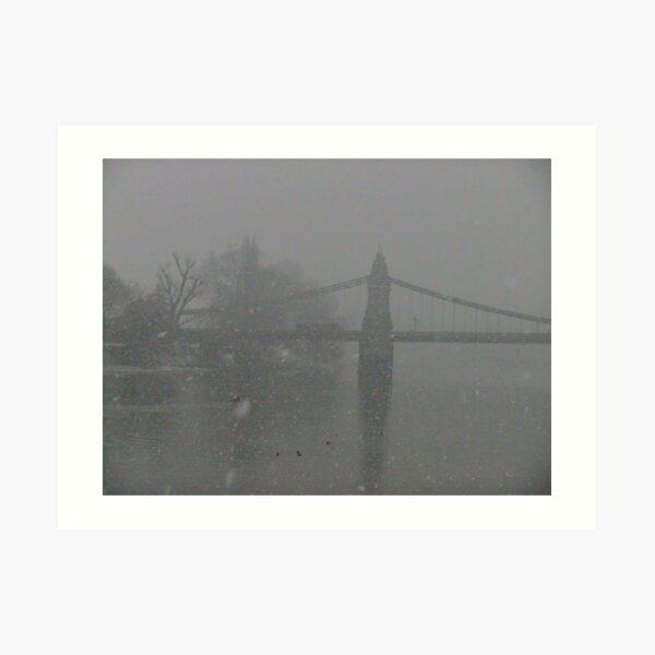 Hammersmith Bridge (yes, it is!) Art Print
