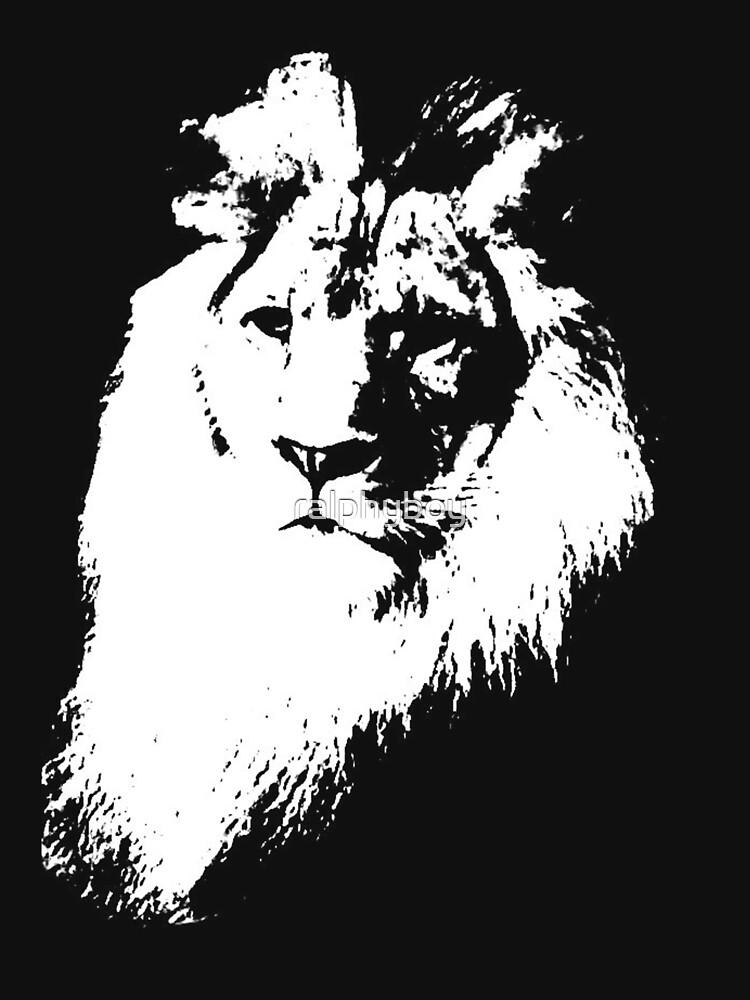 lion t-shirt by ralphyboy