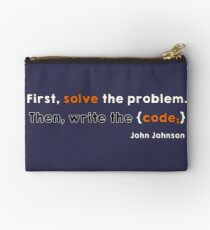 Solve the problem Studio Pouch