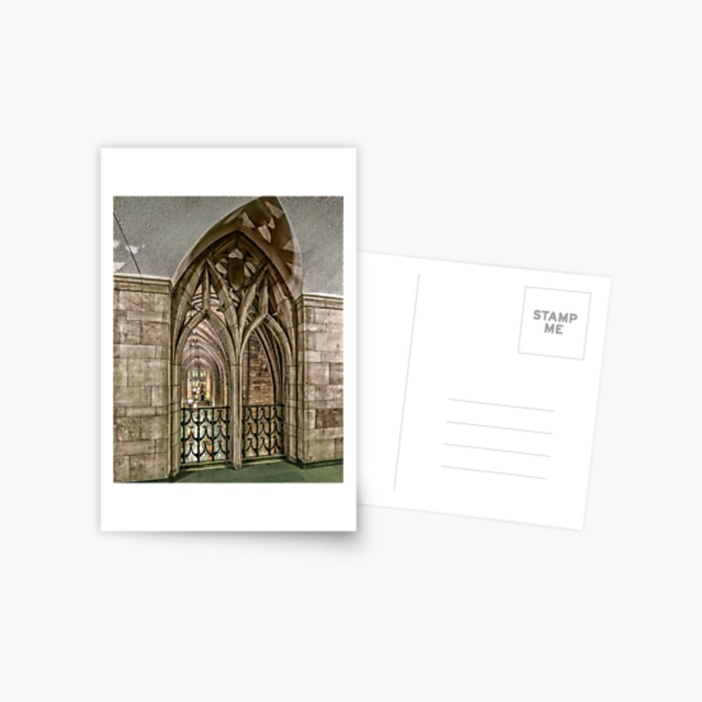 The Cathedral of Learning 20 Postcard