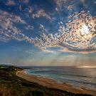 Sky rays by Richard Majlinder