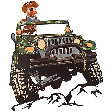 GRIFF ON JEEP by boesarts