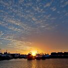 Sunset over Freo by Richard Majlinder