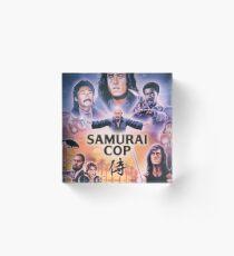 Samurai Cop (1991) Acrylic Block