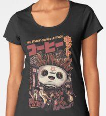 Black magic coffee Premium Scoop T-Shirt